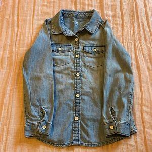 Baby Gap Chambray Button Down Shirt